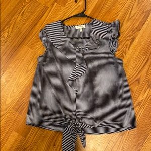 New Never worn striped blouse